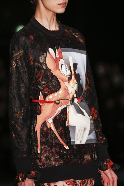 The Givenchy Bambi sweatshirt